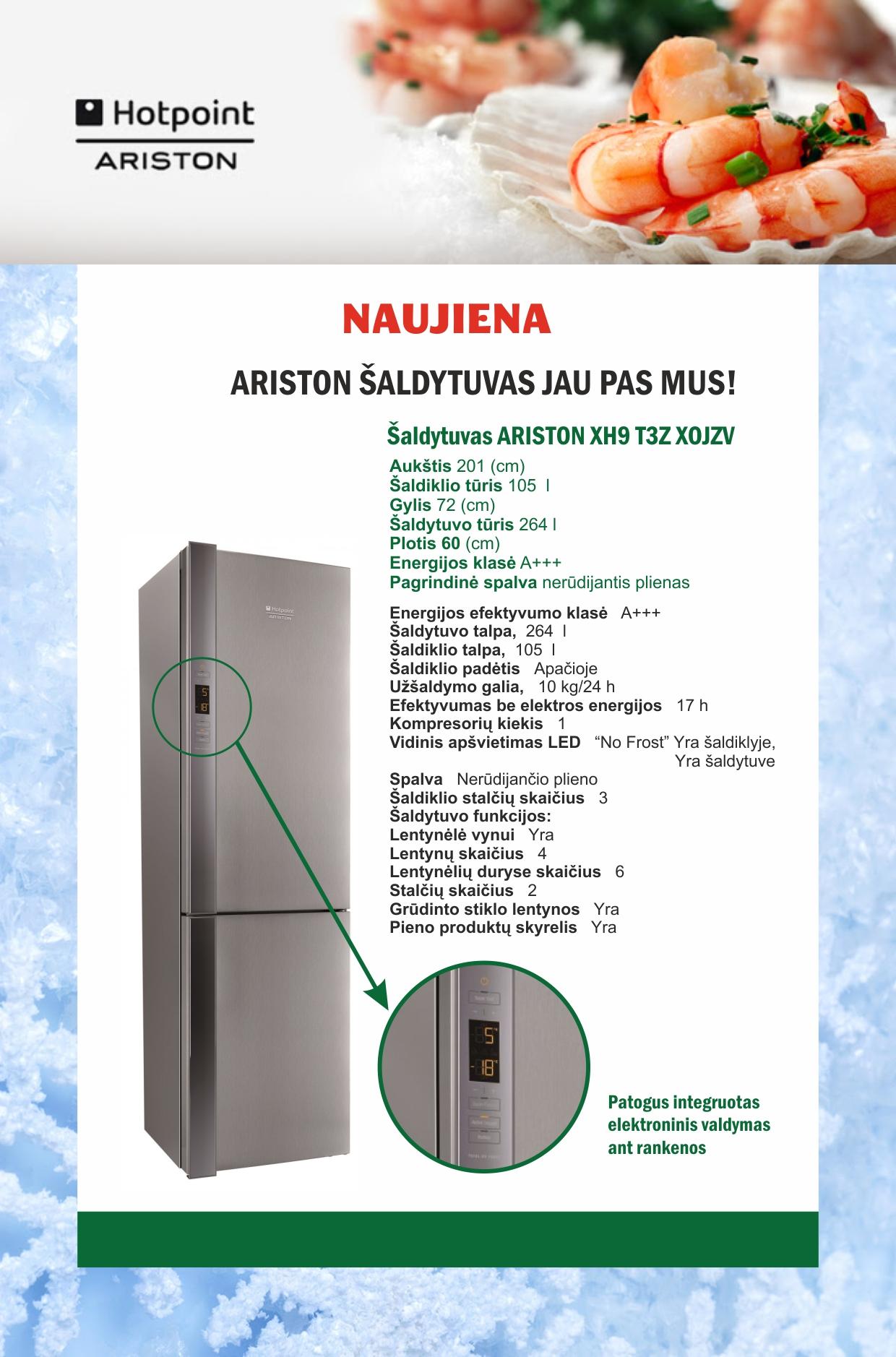 ariston-saldytuvas